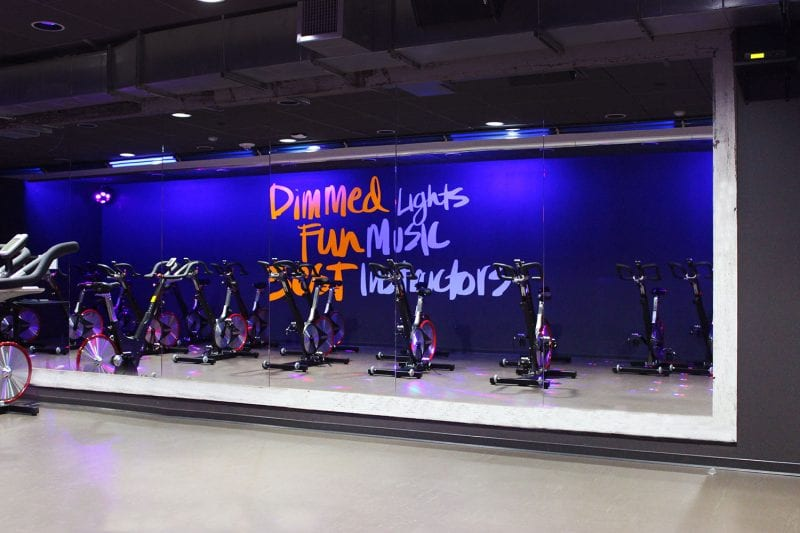 gym design trends group fitness